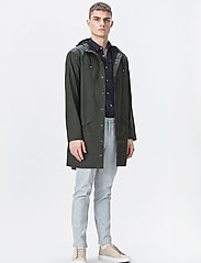 Rains - Long Jacket - regenbekleidung - 03 green - 0