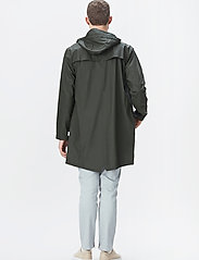 Rains - Long Jacket - regenbekleidung - 03 green - 4