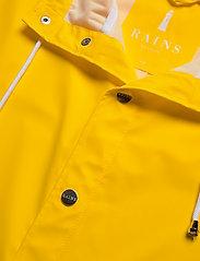 Rains - Long Jacket - regenbekleidung - 04 yellow - 5