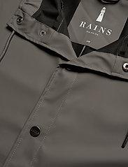 Rains - Long Jacket - regenbekleidung - charcoal - 2
