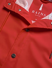 Rains - Long Jacket - regenbekleidung - red - 2