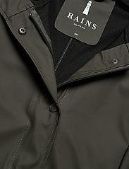 Rains - Curve Jacket - manteaux de pluie - 03 green - 3