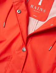 Rains - Curve Jacket - sadevaatteet - red - 3