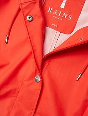 Rains - Curve Jacket - regnkläder - red - 3