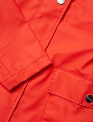 Rains - Curve Jacket - regnkläder - red - 4