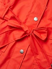 Rains - Curve Jacket - regnkläder - red - 5