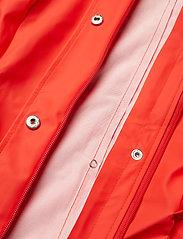 Rains - Curve Jacket - regnkläder - red - 6