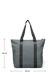 Rains - Tote Bag Rush - weekend bags - 05 slate - 4