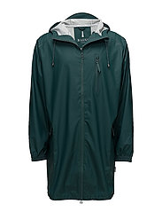 Parka Coat - 40 DARK TEAL