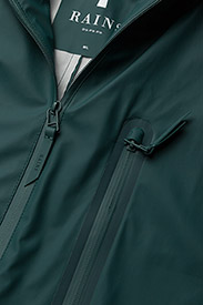 Rains - Parka Coat - jassen & mantels - 40 dark teal - 2
