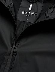 Rains - W Coat - regenbekleidung - 01 black - 5