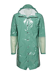 LTD Long Jacket - 73 GLOSSY FADED GREEN
