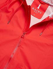 Rains - W Jacket - regenbekleidung - red - 3