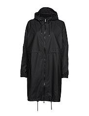 Long W Jacket - BLACK