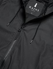 Rains - Long W Jacket - regenbekleidung - black - 2