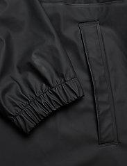 Rains - Long W Jacket - regenbekleidung - black - 3