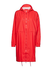 Long W Jacket - RED