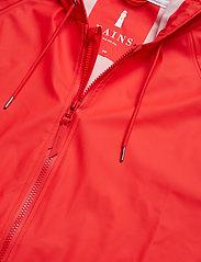 Rains - Long W Jacket - regenbekleidung - red - 3