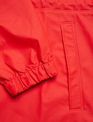 Rains - Long W Jacket - regenbekleidung - red - 4