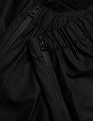 Rains - Pants - regnbukser - 01 black - 5