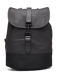 Drawstring Backpack - 01 BLACK