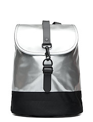 Drawstring Backpack - 12 SILVER