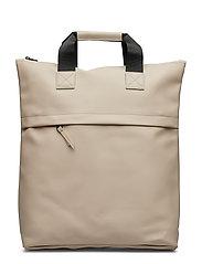 Tote Backpack - BEIGE