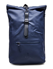 Roll Top Rucksack - BLUE