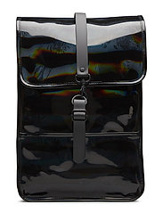 Holographic Backpack Mini - 25 HOLOGRAPHIC BLACK