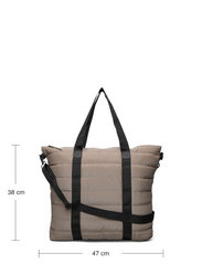 Rains - Tote Bag Quilted - weekend bags - 33 velvet taupe - 4