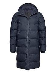 Long Puffer Jacket - 02 BLUE