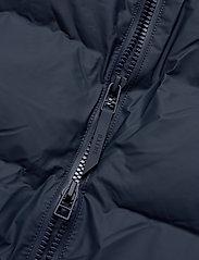 Rains - Long Puffer Jacket - fodrade jackor - 02 blue - 6