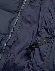 Rains - Long Puffer Jacket - fodrade jackor - 02 blue - 7