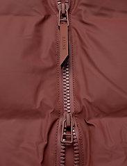 Rains - Long Puffer Jacket - fodrade jackor - 11 maroon - 3