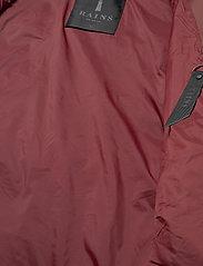 Rains - Long Puffer Jacket - fodrade jackor - 11 maroon - 4