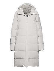 Long Puffer Jacket - 58 OFF WHITE