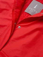 Rains - W Trench Coat - regenbekleidung - red - 6