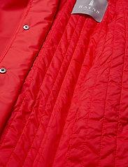 Rains - W Trench Coat - regenbekleidung - red - 9