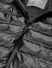 Rains - Trekker Vest - vestes rembourrées - 76 shiny black - 2