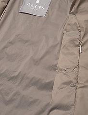 Rains - Trekker Jacket - vestes matelassées - 17 taupe - 4
