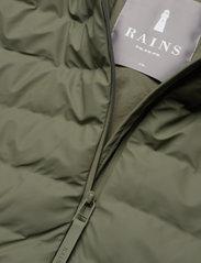 Rains - Trekker Jacket - vestes matelassées - 19 olive - 2