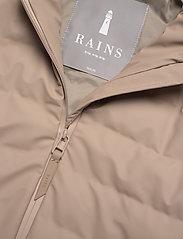 Rains - Trekker Jacket - vestes matelassées - 35 beige - 2