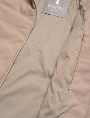 Rains - Trekker Jacket - vestes matelassées - 35 beige - 4