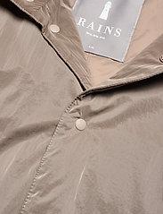 Rains - Drifter Track Jacket - manteaux de pluie - 17 taupe - 2
