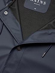Rains - Short Hooded Coat - manteaux de pluie - 02 blue - 2