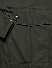 Rains - Short Hooded Coat - regenbekleidung - 03 green - 3