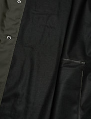 Rains - Short Hooded Coat - regenbekleidung - 03 green - 4