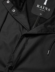 Rains - Longer Jacket - manteaux de pluie - 01 black - 2