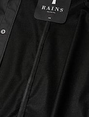 Rains - Longer Jacket - manteaux de pluie - 01 black - 3