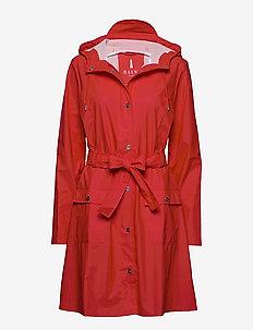 Curve Jacket - regntøj - red